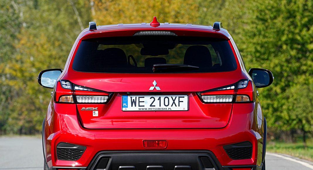 Mitsubishi ASX 2.0 CVT Intense Plus – tył