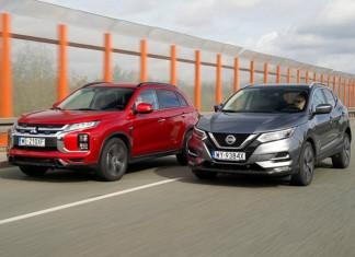 Mitsubishi ASX, Nissan Qashqai – PORÓWNANIE