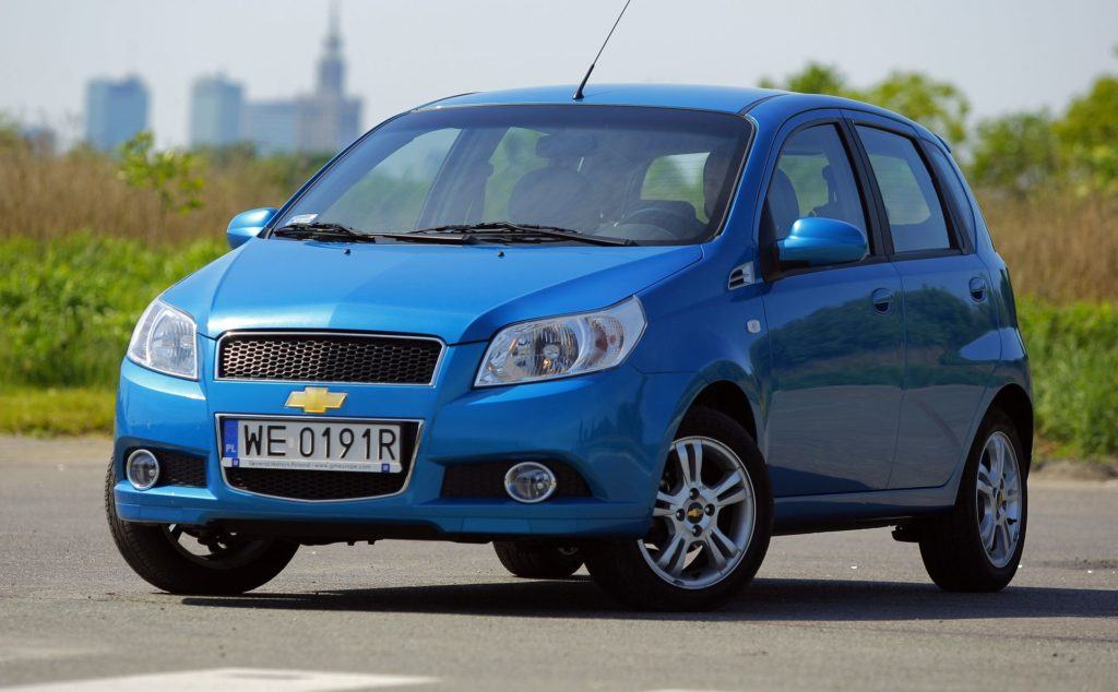 CHEVROLET Aveo I FL 1.2 16V 84KM 5MT WE0191R 05-2009
