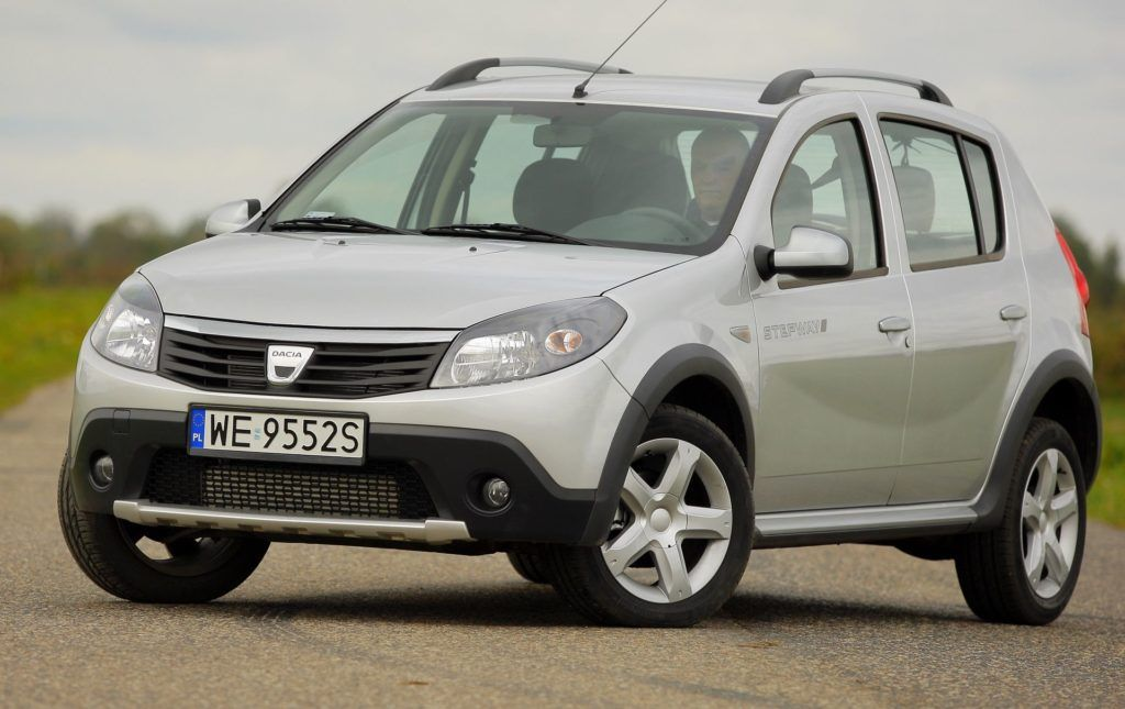 DACIA Sandero I Stepway 1.5dCi 90KM 5MT WE9552S 10-2009
