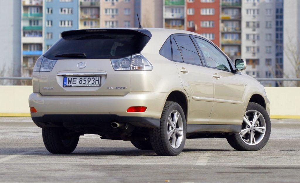 LEXUS RX 400h II 3.3 V6 272KM AT CVT WE8593H 03-2007