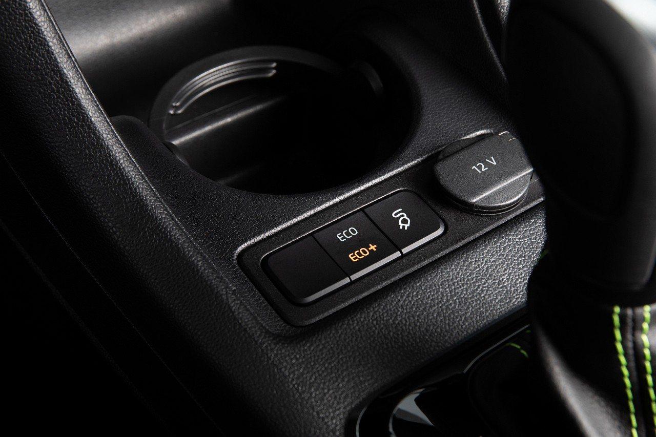 Skoda Citigo-e iV - przyciski wyboru trybów jazdy