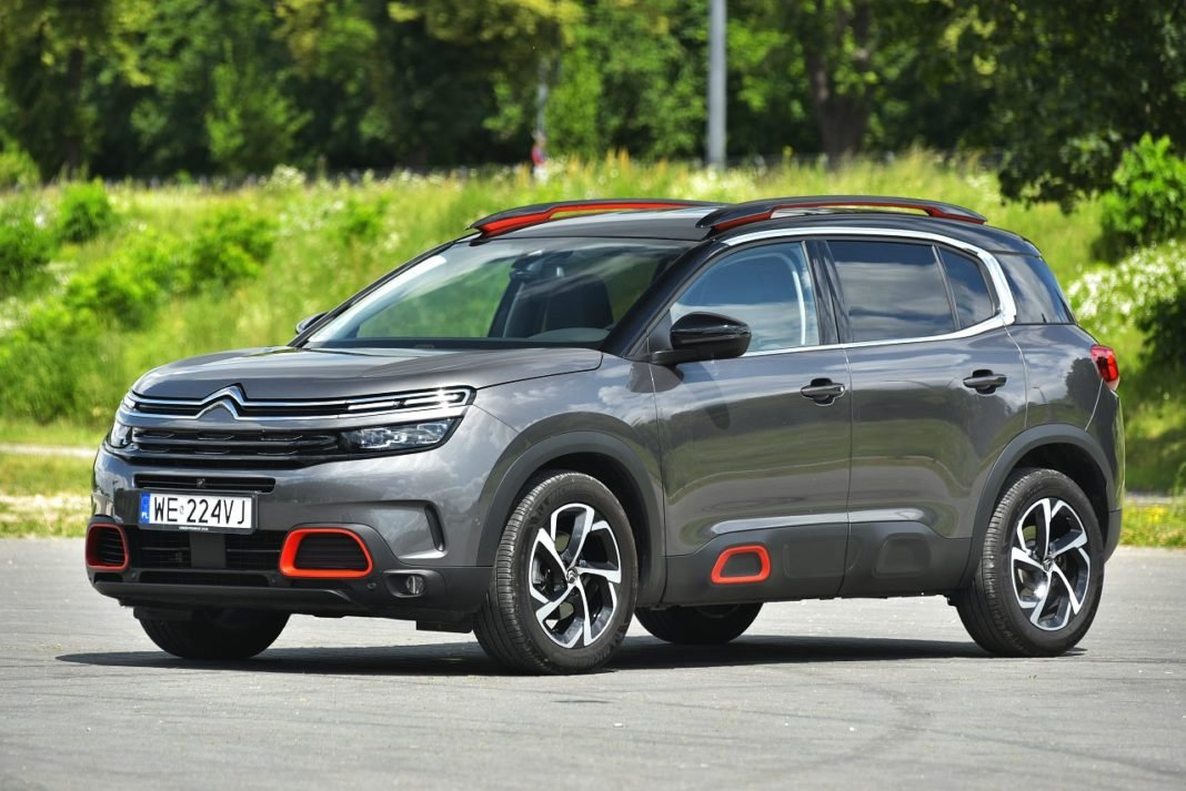 Citroen C5 Aircross 2.0 BlueHDi 180 EAT8 - przód