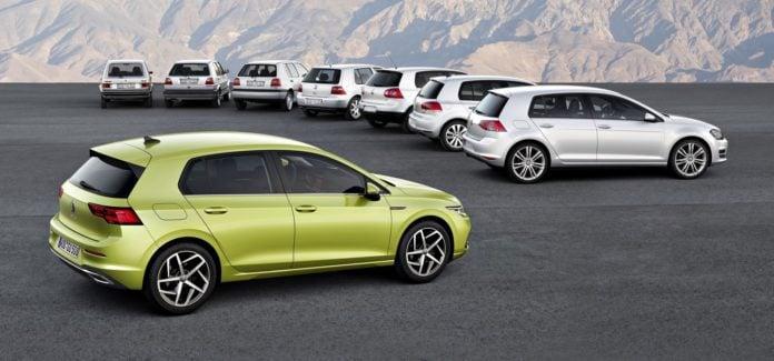 Volkswagen Golf - wszystkie generacje