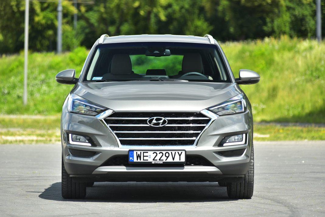 Hyundai Tucson 2.0 CRDi 4WD - przód