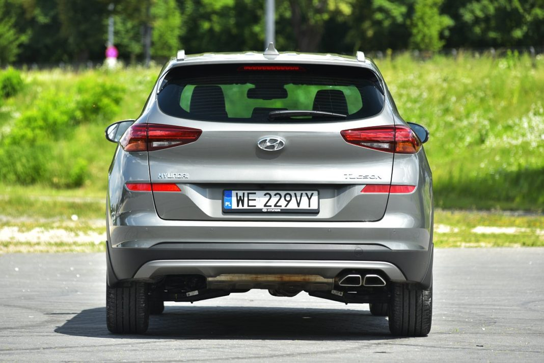Hyundai Tucson 2.0 CRDi 4WD - tył