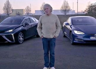 James May porównał Teslę Model S i Toyotę Mirai
