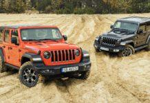 Jeep Wrangler Rubicon - Jeep Wrangler Sahara