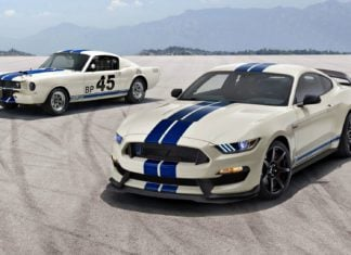 Nowy Ford Mustang Shelby GT350 Heritage Edition