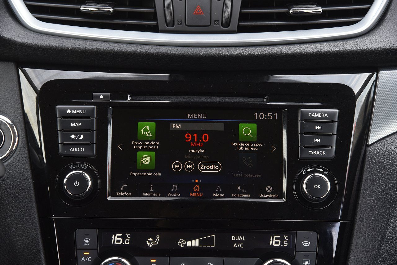 Nissan Qashqai dCi 150 4x4 - system multimedialny