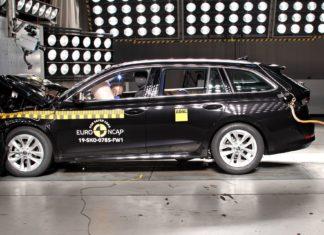 Nowa Skoda Octavia rozbita! Jak wypadła w testach Euro NCAP?