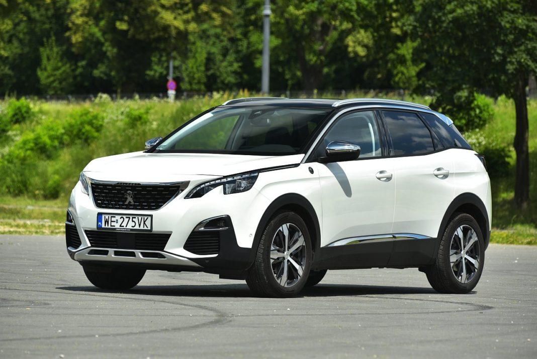 Peugeot 3008 2.0 BlueHDi - przód