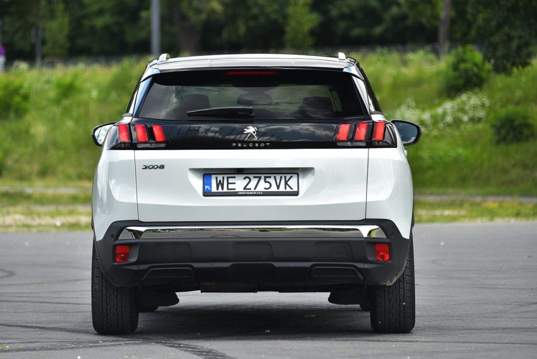 Peugeot 3008 2.0 BlueHDi - tył