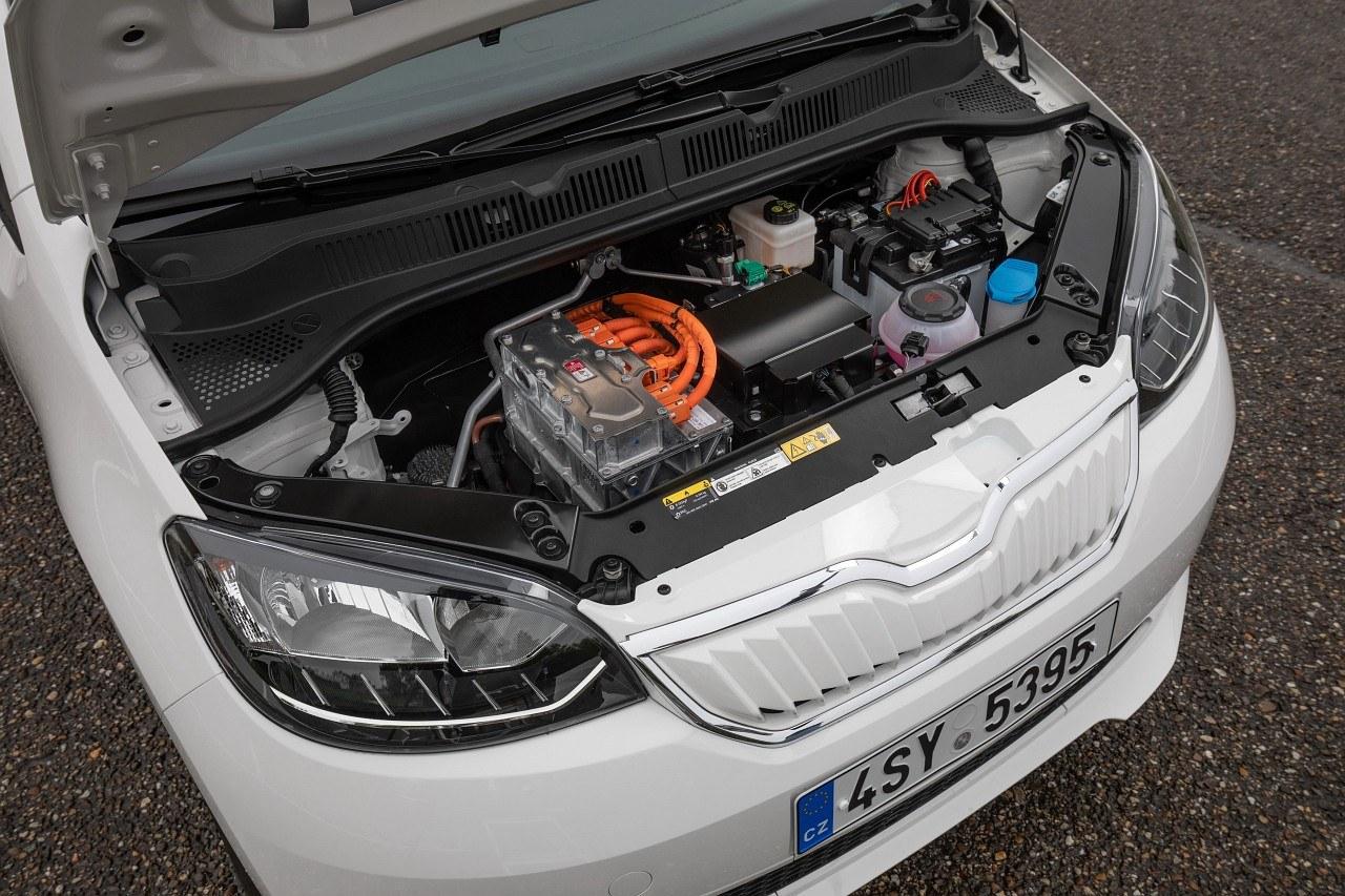 Skoda Citigo-e iV - 82-konny silnik elektryczny