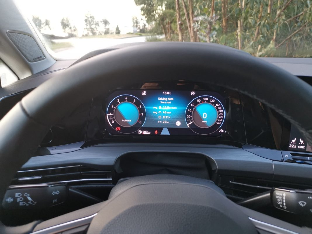 Volkswagen Golf VIII (2020) - zegary