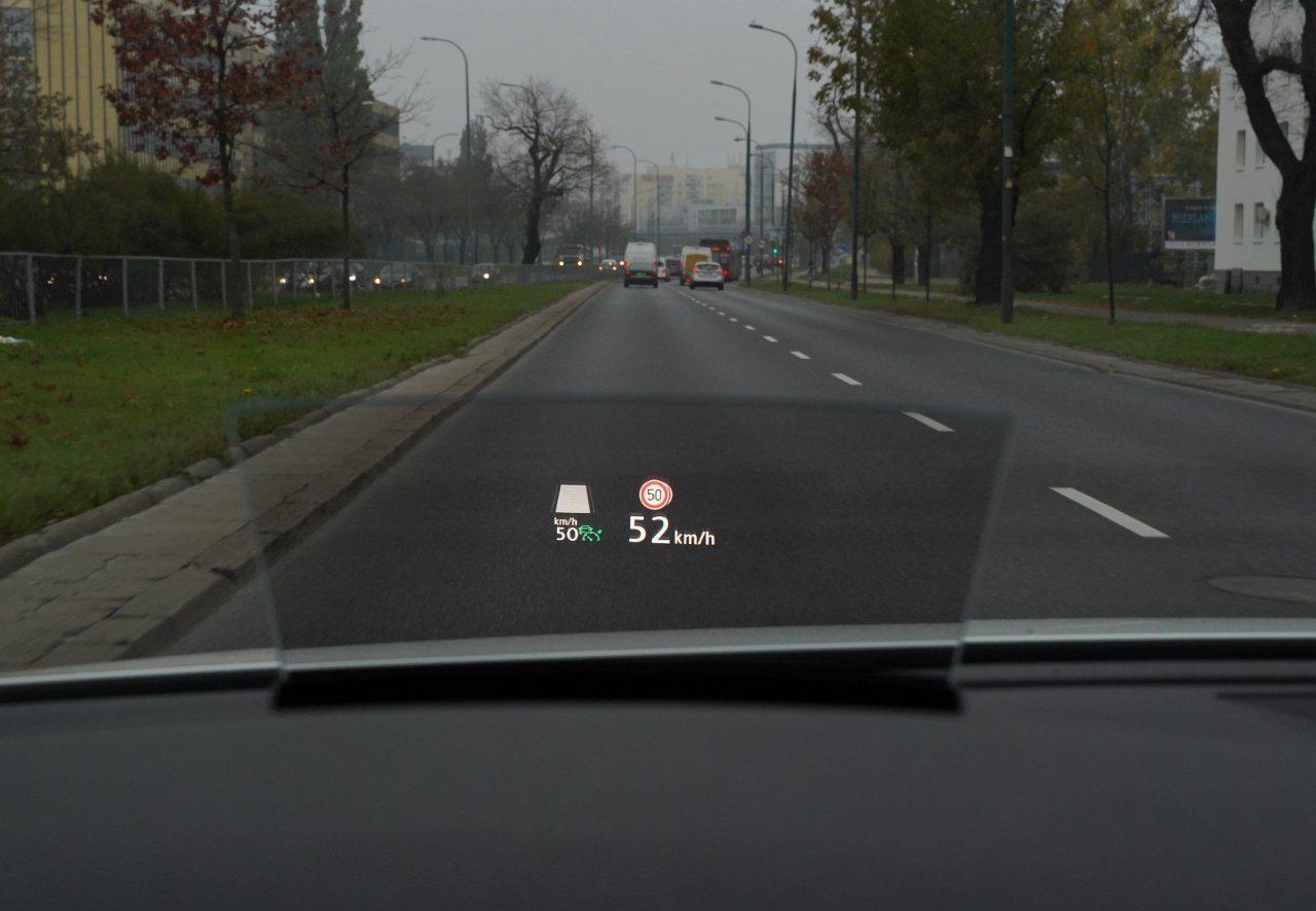 volkswagen passat b8 lifting ekran head-up