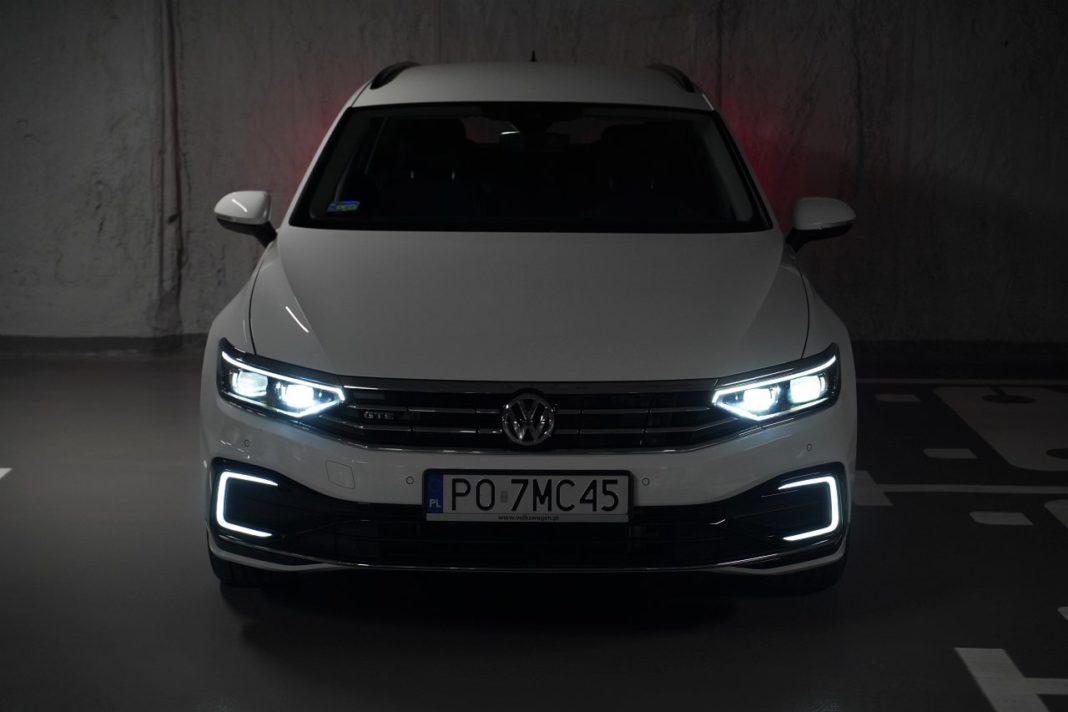 volkswagen passat gte b8 lifting 2019 iq.light reflektor led