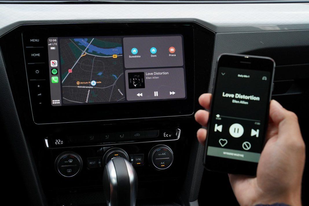 volkswagen passat variant b8 lifting 2019 bezprzewodowy apple carplay