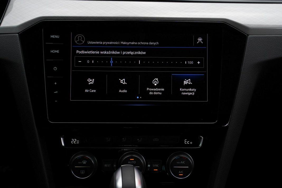 volkswagen passat variant b8 lifting 2019 system multimedialny 02