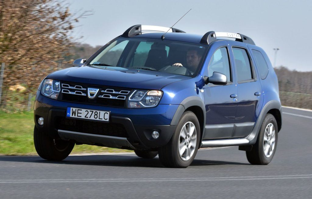 DACIA Duster I FL 1.2TCe 105KM 6MT 4WD WE278LC 04-2016