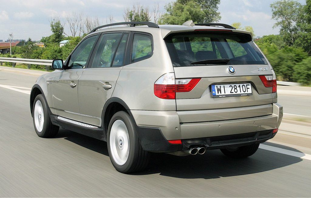 BMW X3 E83 FL xDrive35d 3.0d R6 286KM 6AT WI2810F 06-2007