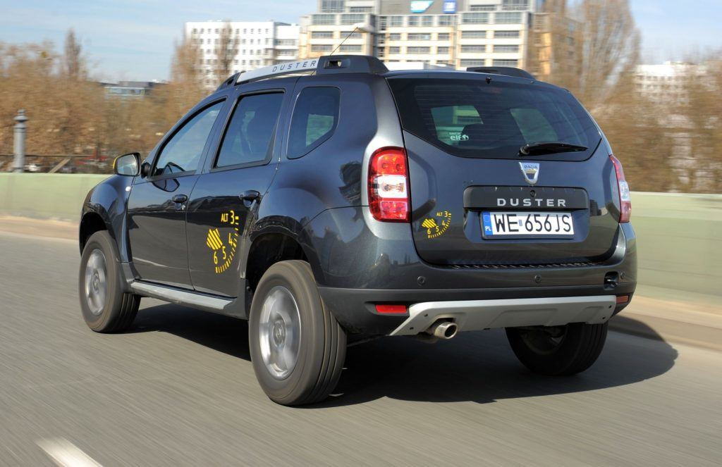 DACIA Duster I FL Blackstorm 1.5dCi 110KM 6MT 4WD WE656JS 03-2015