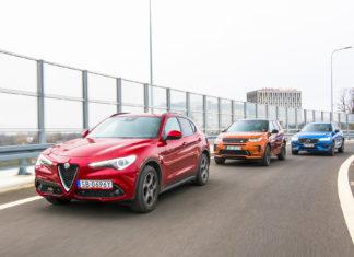 Alfa Romeo Stelvio, Land Rover Discovery Sport, Volvo XC60 – PORÓWNANIE