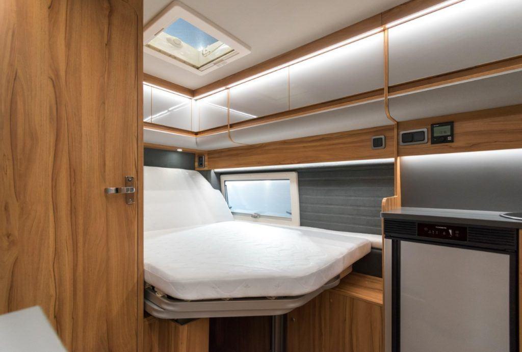Affinity Camper Van łóżko