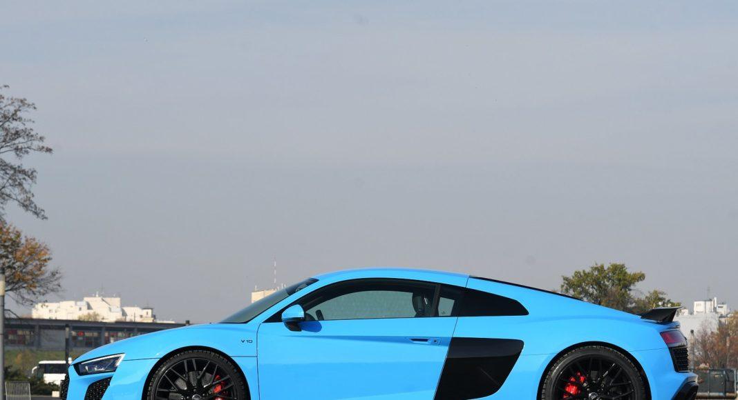 Audi R8 V10 performance po liftingu (2020) - bok