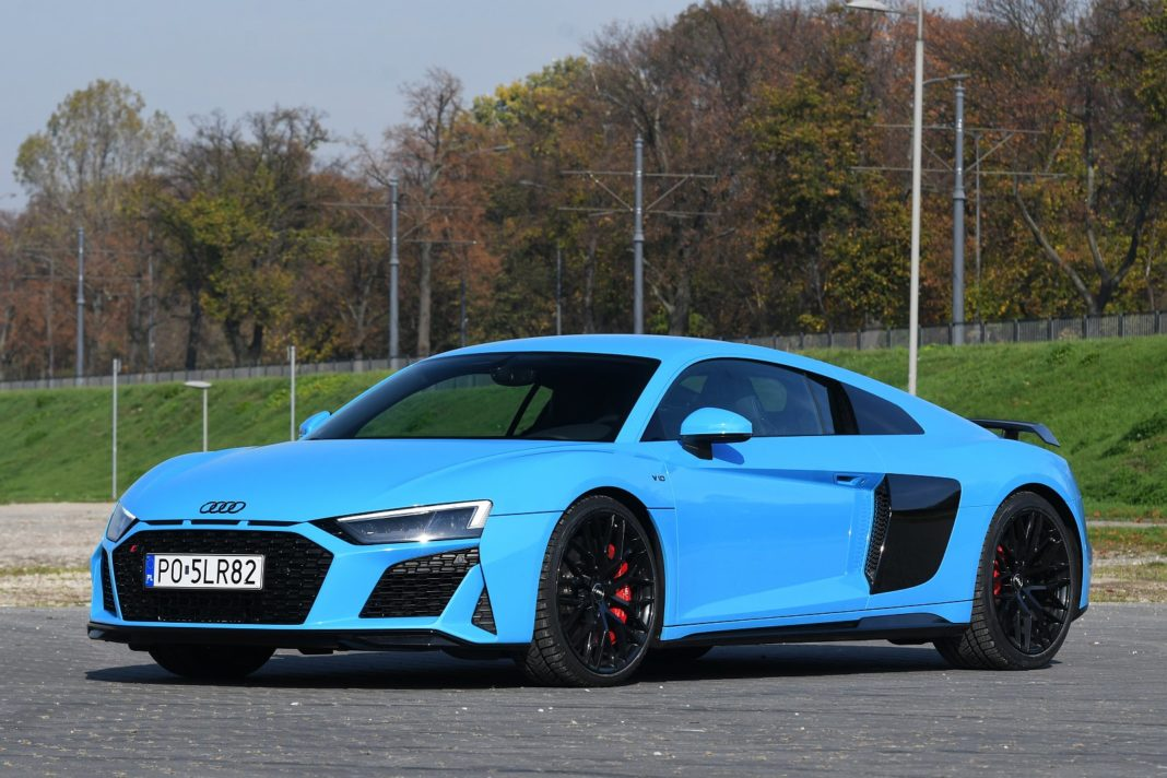 Audi R8 V10 performance po liftingu (2020) - przód