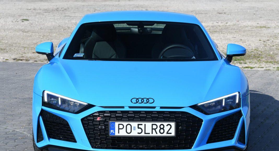 Audi R8 V10 performance po liftingu (2020) - przód