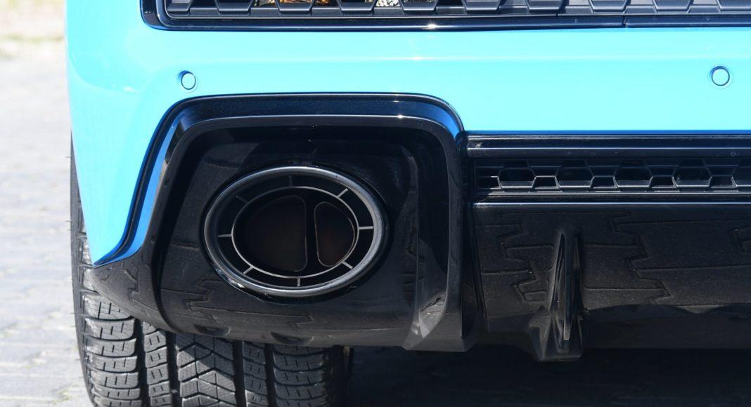 Audi R8 V10 performance po liftingu (2020) - rura wydechowa