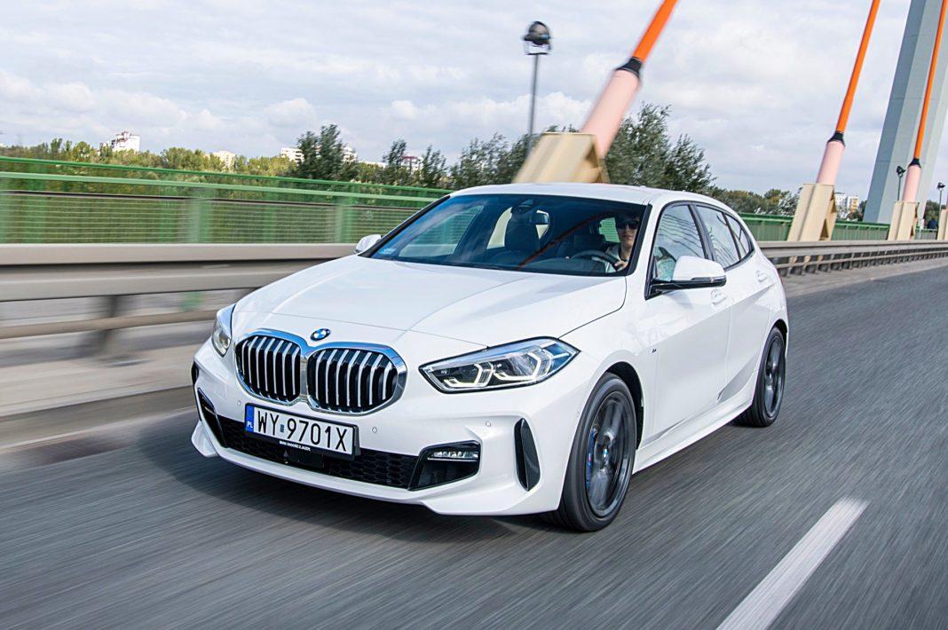 BMW 118i Steptronic – przód