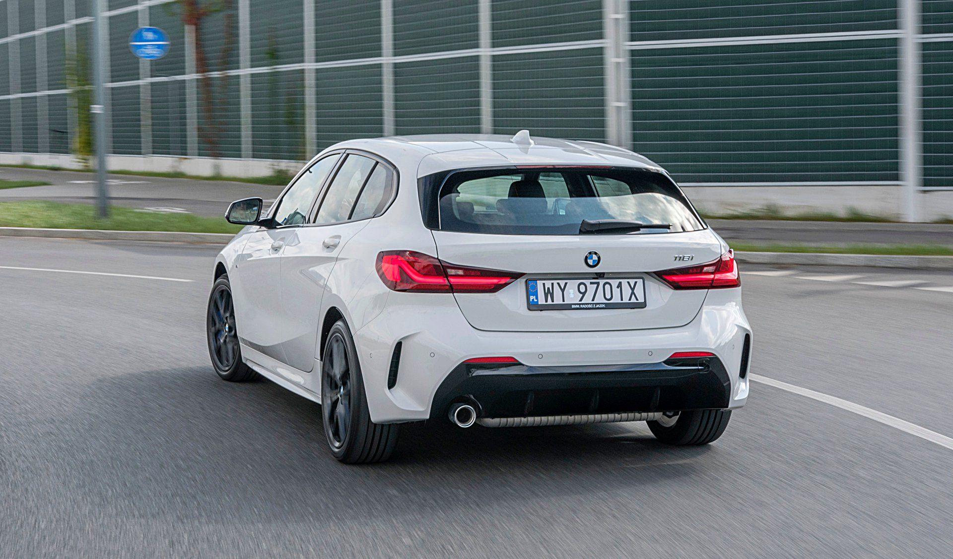 BMW 118i Steptronic tył