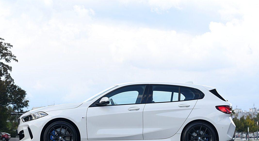 BMW 118i Steptronic – bok