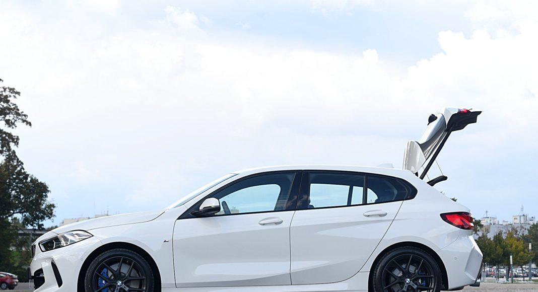 BMW 118i Steptronic – bok bagażnik