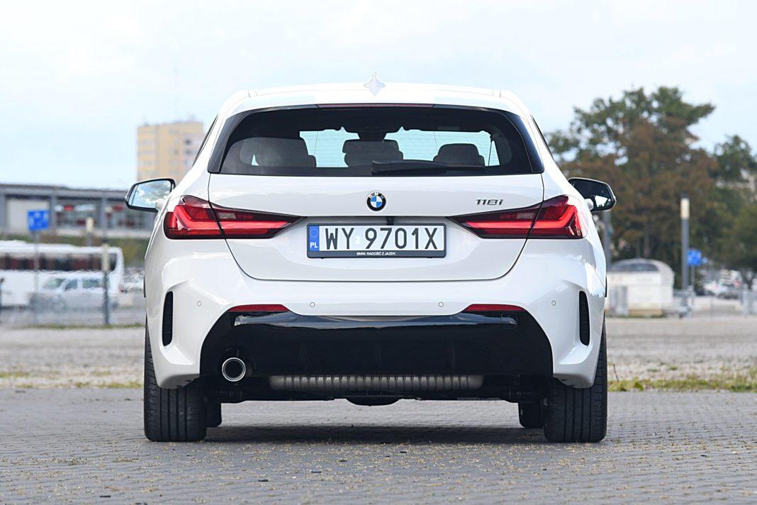 BMW 118i Steptronic – tył