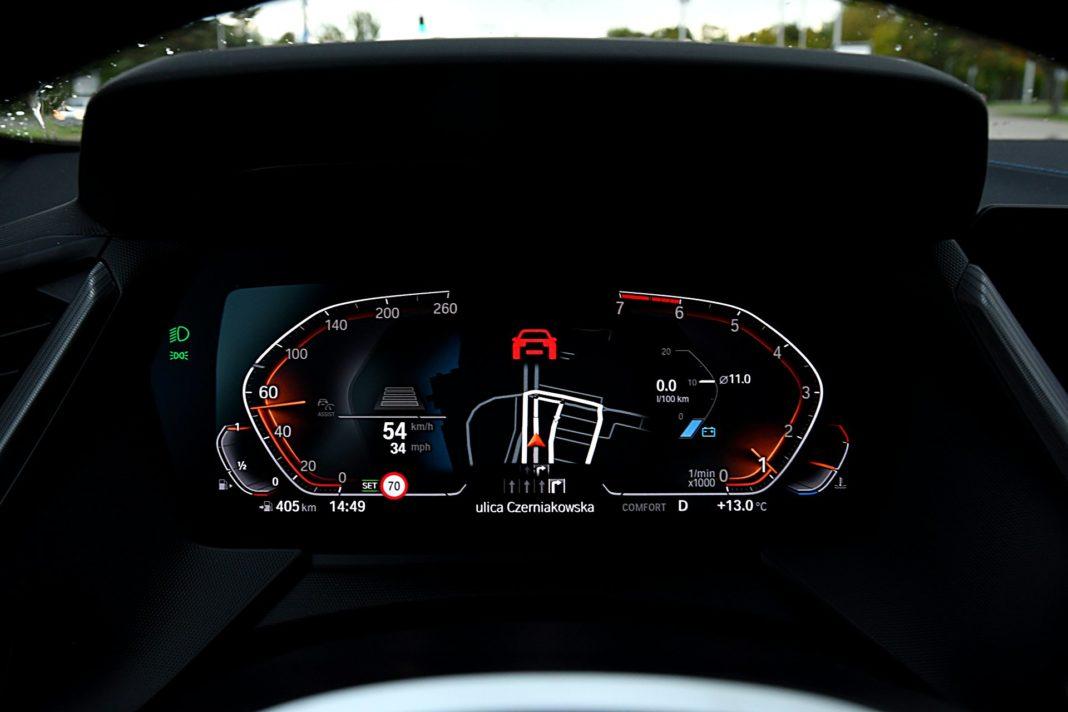 BMW 118i Steptronic – wskaźniki