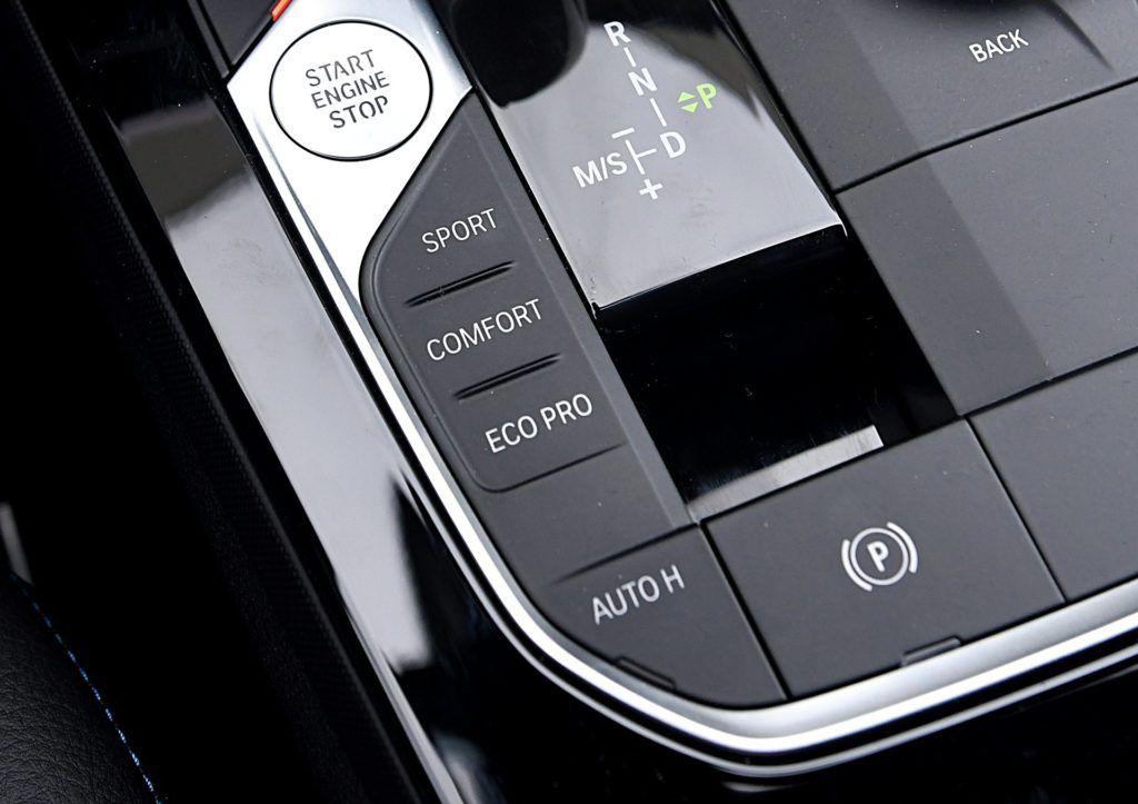 BMW 118i F40 tryby jazdy