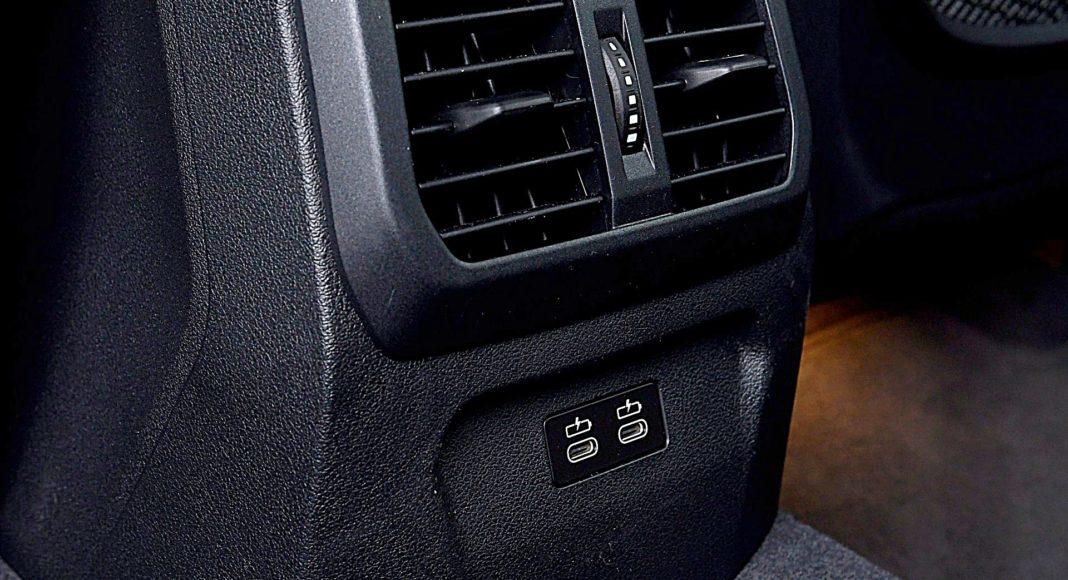 BMW 118i wejścia USB