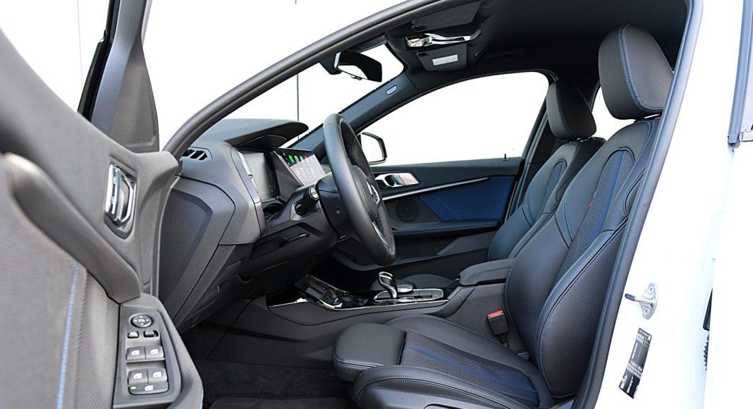 BMW 118i fotele