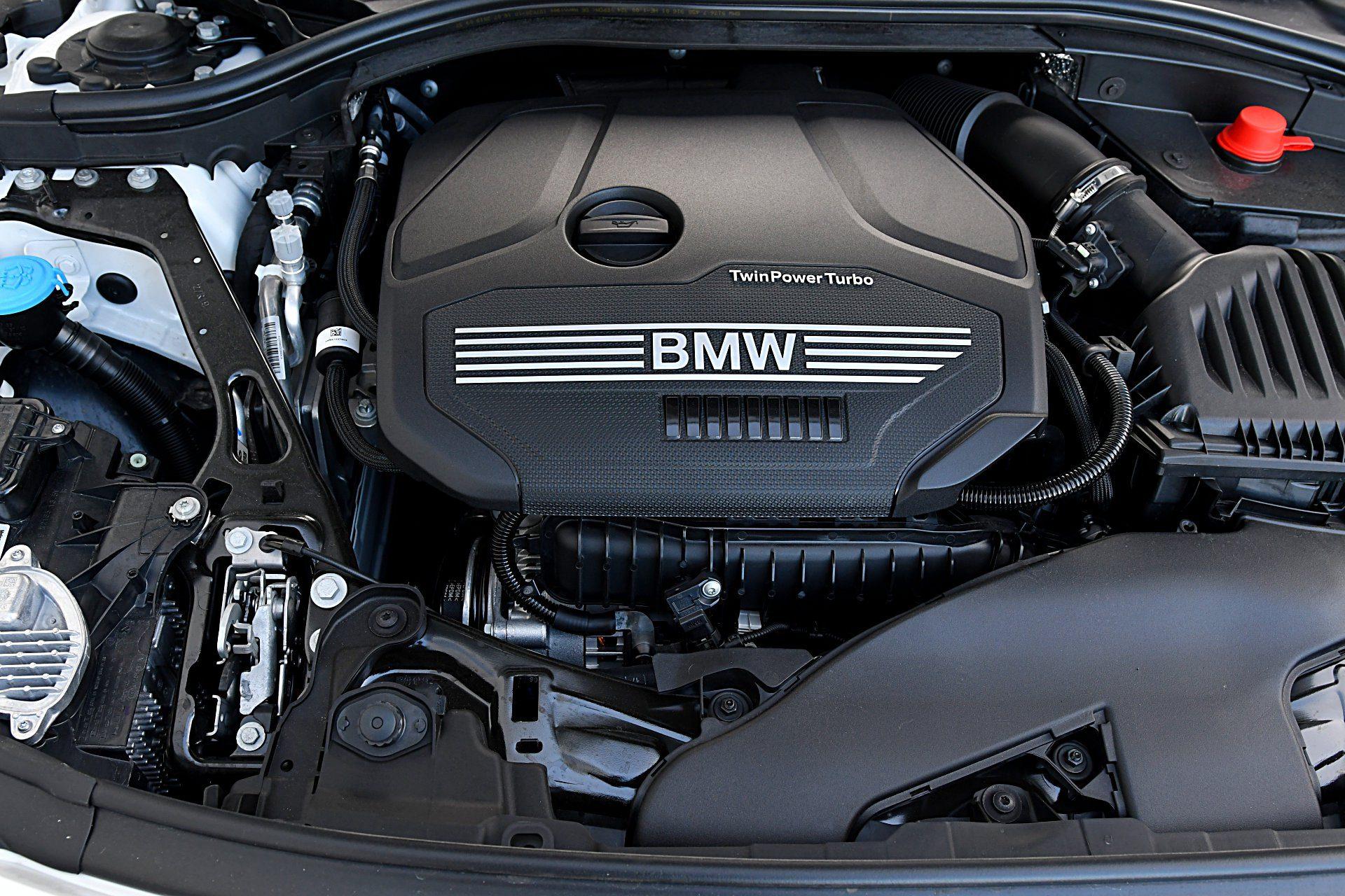 BMW 118i F40 silnik