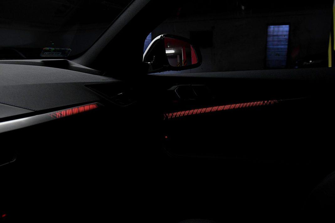 BMW 118i Steptronic – oświetlenie kabiny