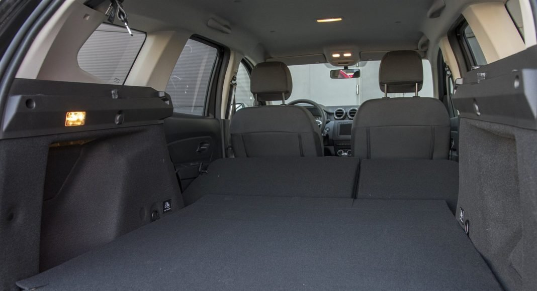 Dacia Duster 1.3 TCe 150 4WD Prestige test 2020 - bagażnik