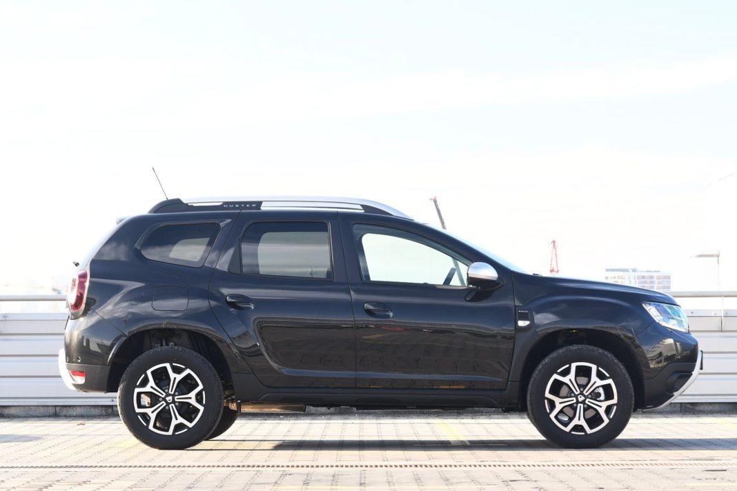 Dacia Duster 1.3 TCe 150 4WD Prestige test 2020 - bok