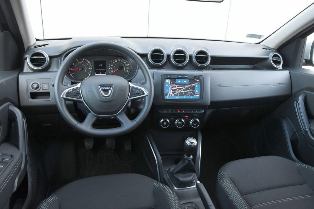 Dacia Duster 1.3 TCe 150 4WD Prestige test 2020 - deska rozdzielcza