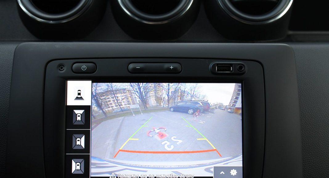Dacia Duster 1.3 TCe 150 4WD test 2020 kamera cofania kamery 360 stopni