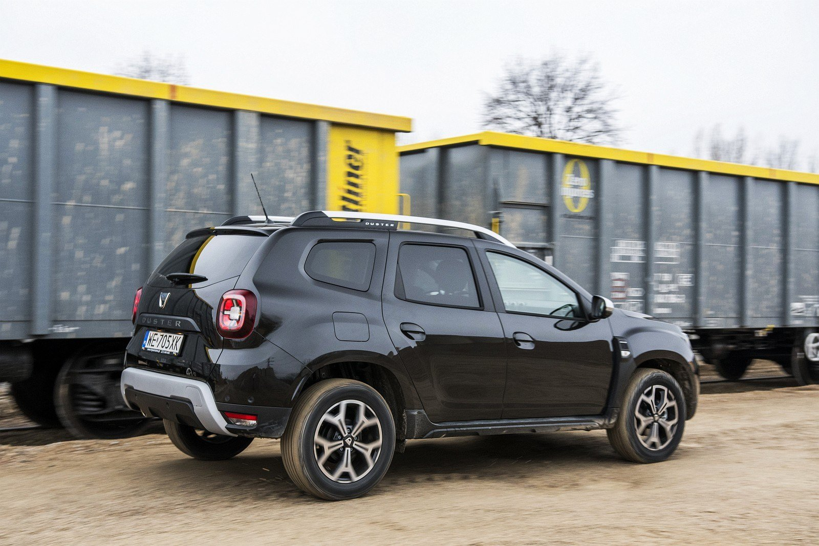 Dacia Duster 1.3 TCe 150 4WD test 2020 tył