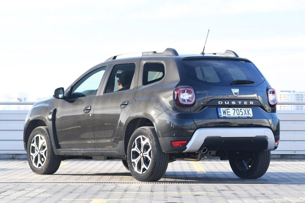 Dacia Duster 1.3 TCe 150 4WD Prestige test 2020 - tył