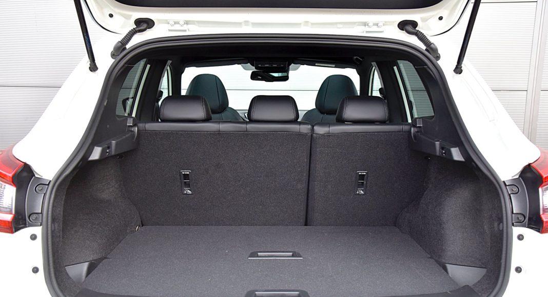 Nissan Qashqai DIG-T 160 DCT Tekna+ – bagażnik